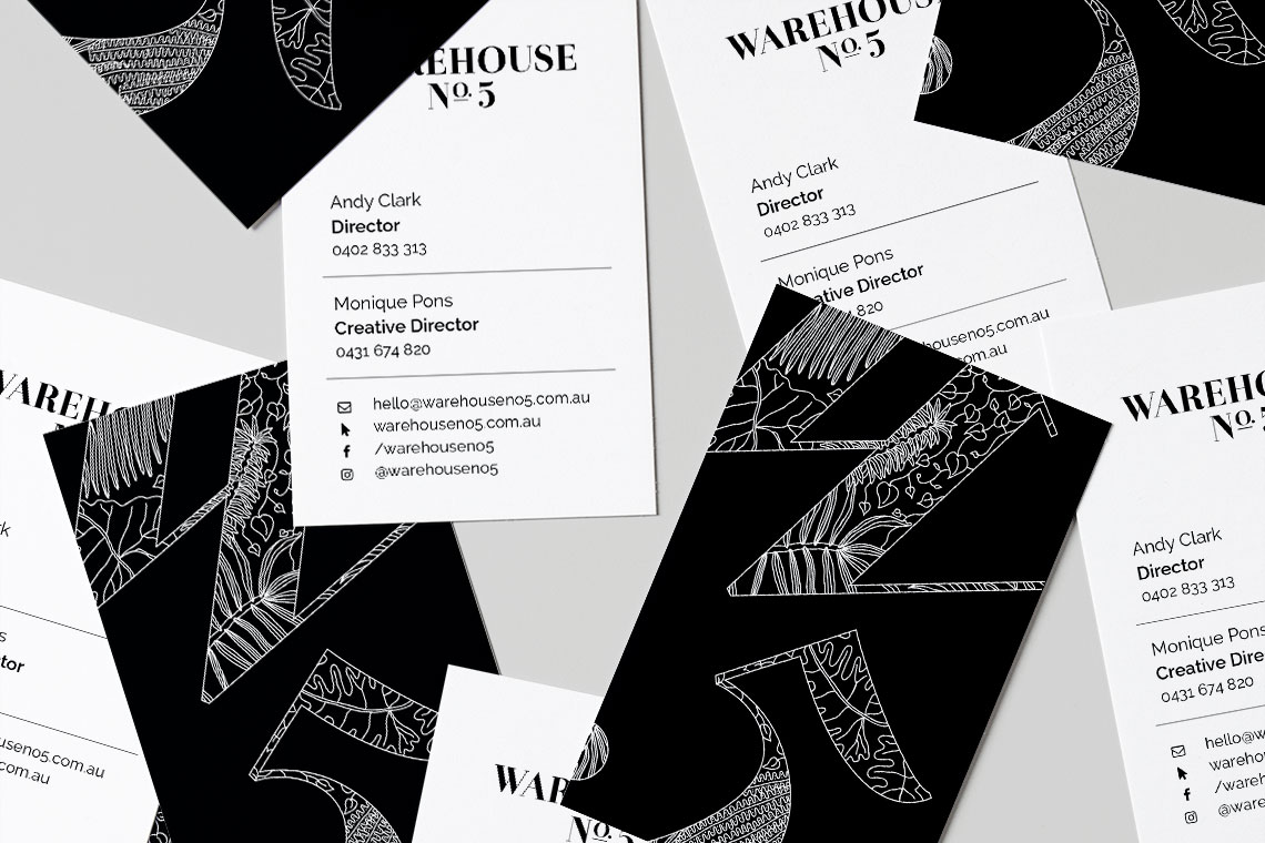 Warehouse No.5 business cards