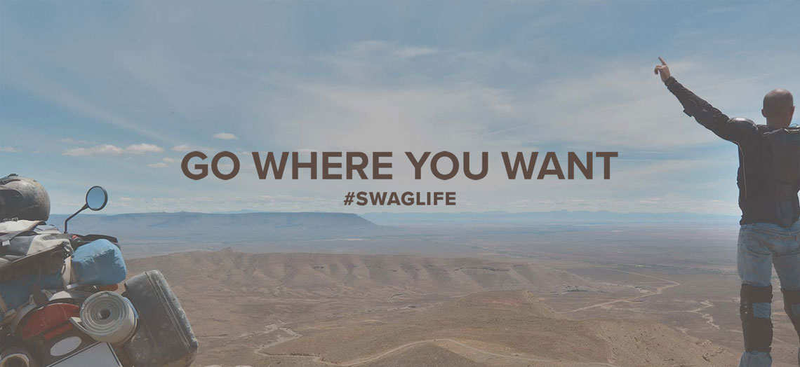 Sahara Swags - go where you want