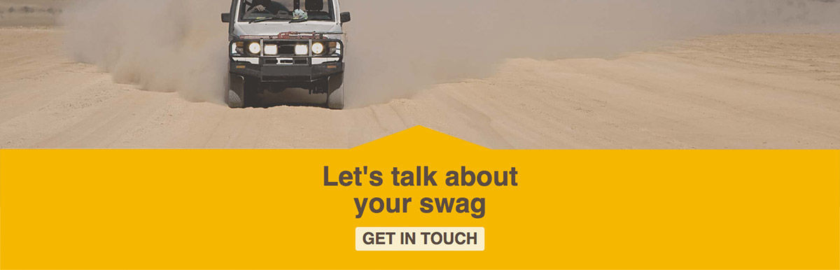 Sahara Swags web design